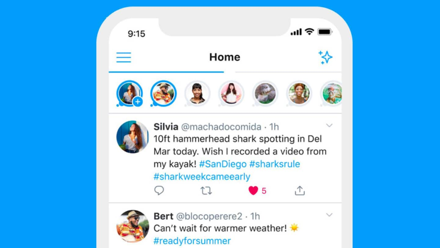 Twitter Fleets launched globally; Audio Spaces coming to select users
