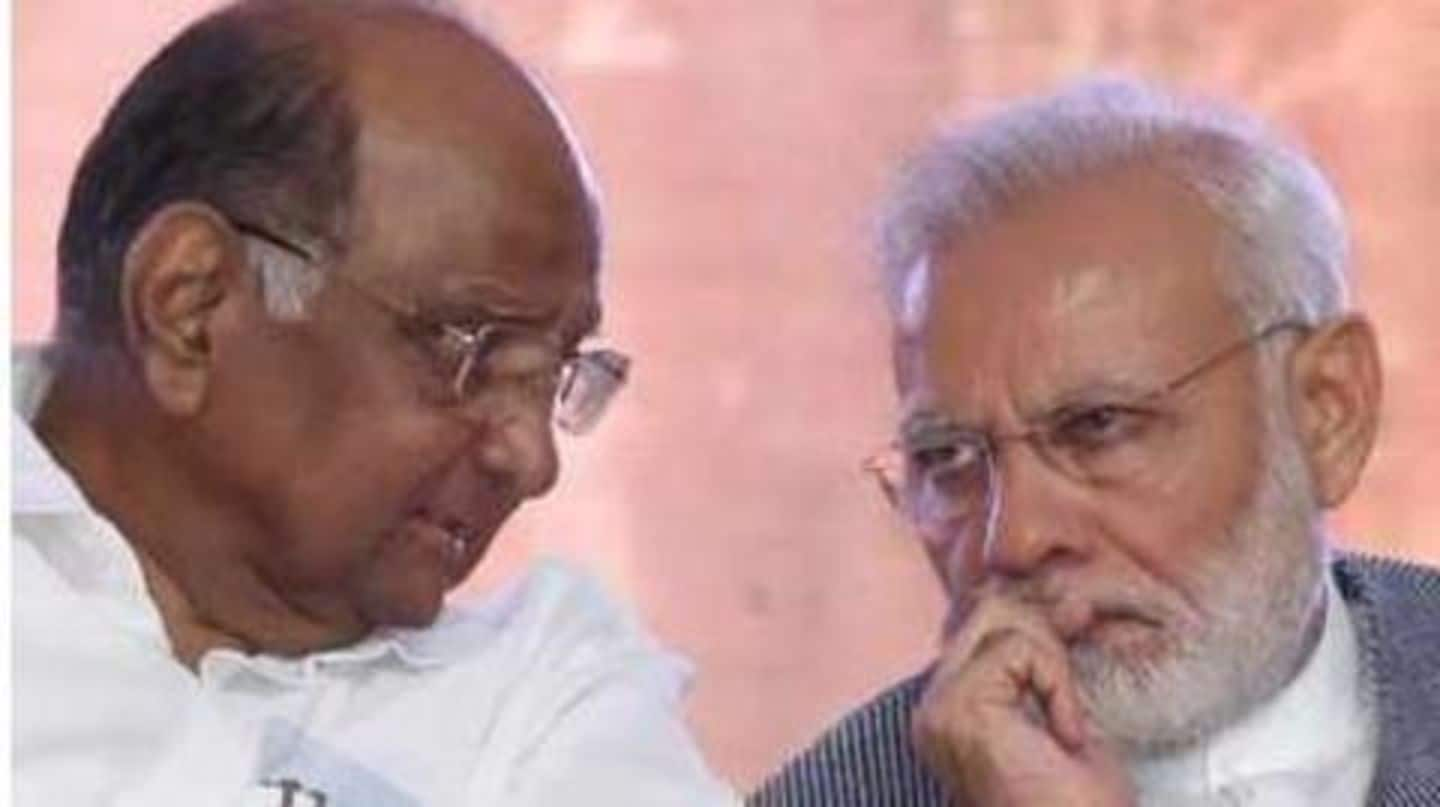 Modi proposed BJP-NCP alliance in Maharashtra, claims Sharad Pawar