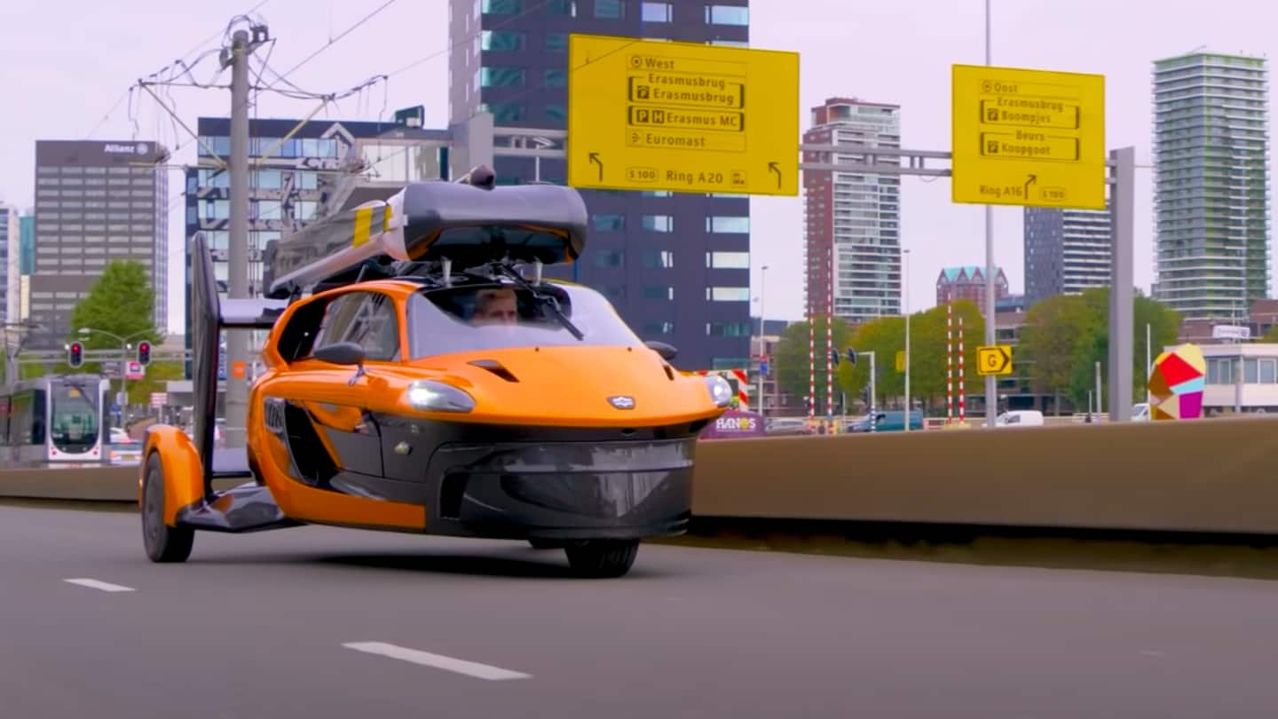 World's first flying car, PAL-V Liberty, ready to hit roads
