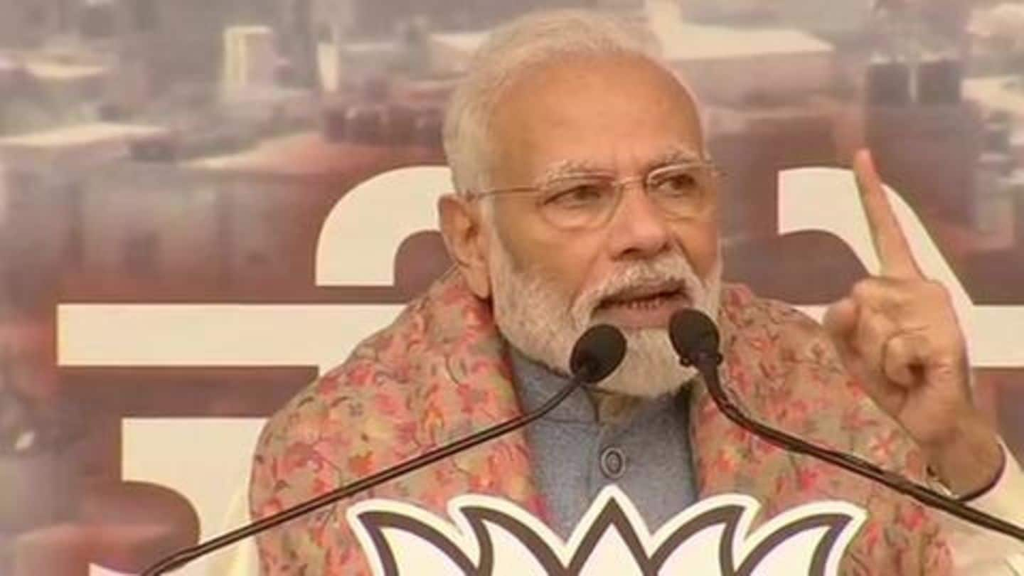 'Challenge people to find discrimination in my policies': PM Modi