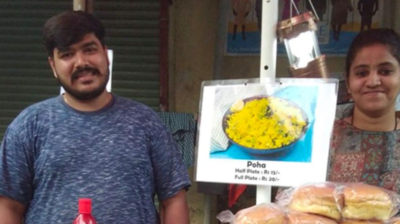Mumbai MBA couple runs food-stall outside Kandivali station: Here's why