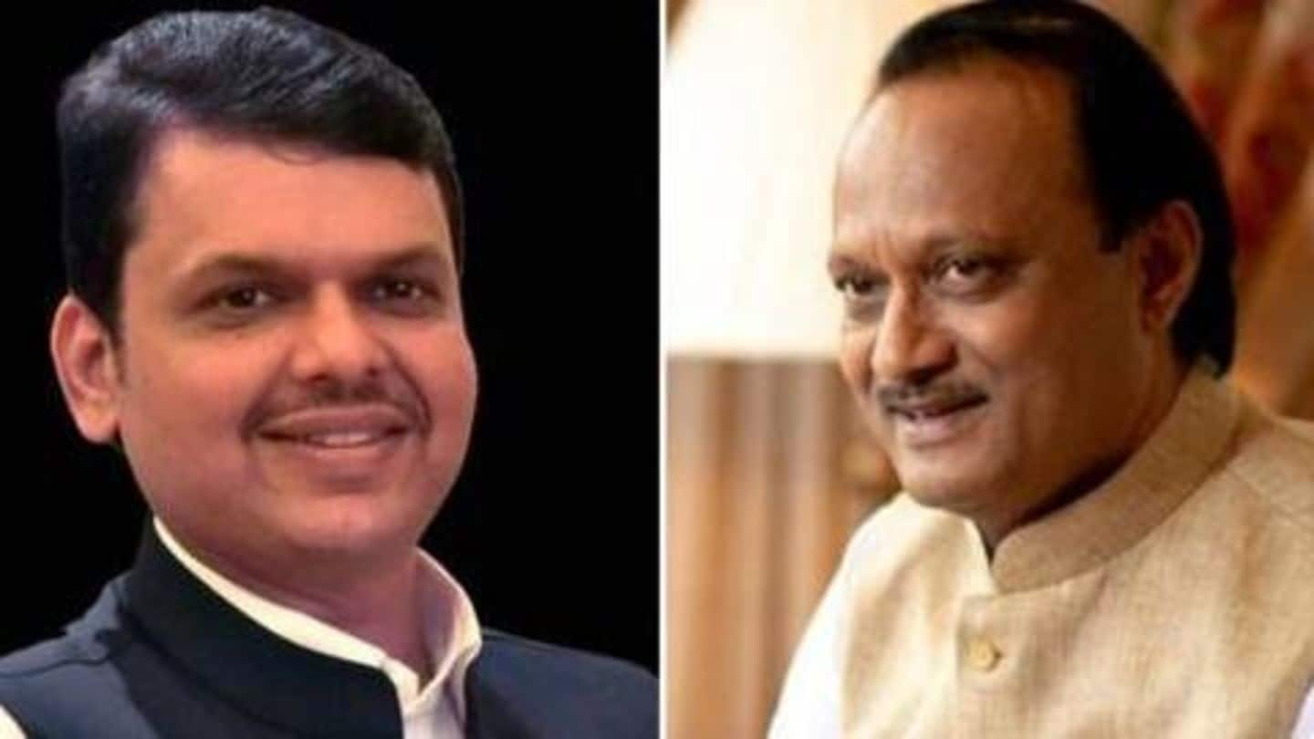 Here's what happened at Devendra Fadnavis, Ajit Pawar's late-night meeting