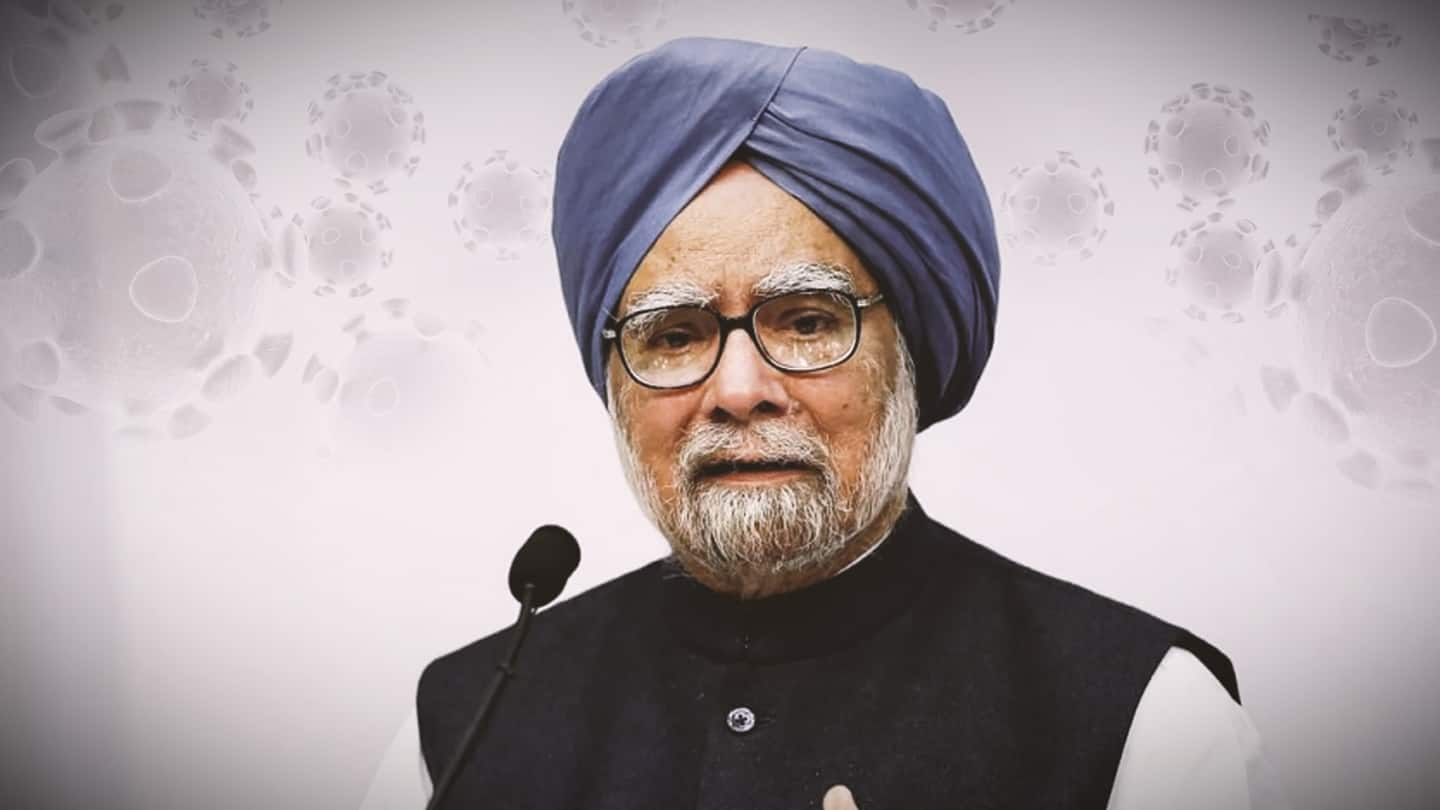 Former PM Manmohan Singh admitted to AIIMS after testing COVID-positive
