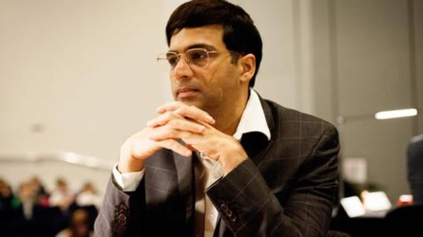Viswanathan Anand to represent India in online Nations Cup chess