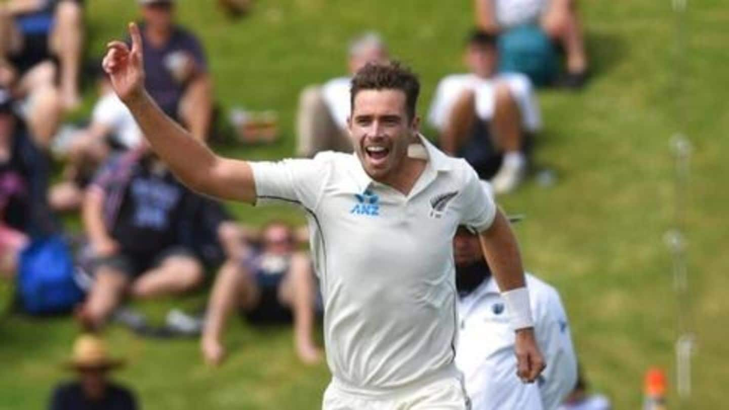 Tim Southee, Tom Latham clinch First-class honors at NZC awards