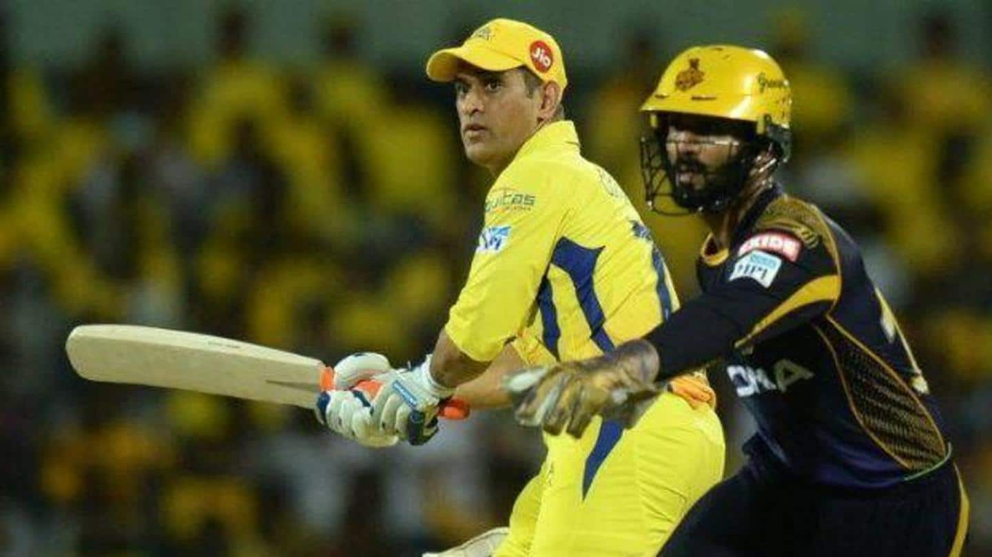 IPL: Decoding performance of MS Dhoni against Kolkata Knight Riders