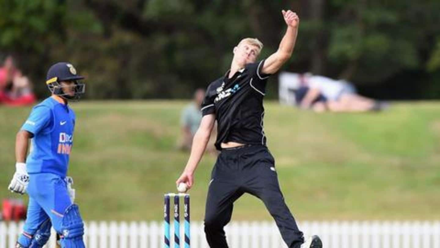Kyle Jamieson handed central contract by New Zealand Cricket