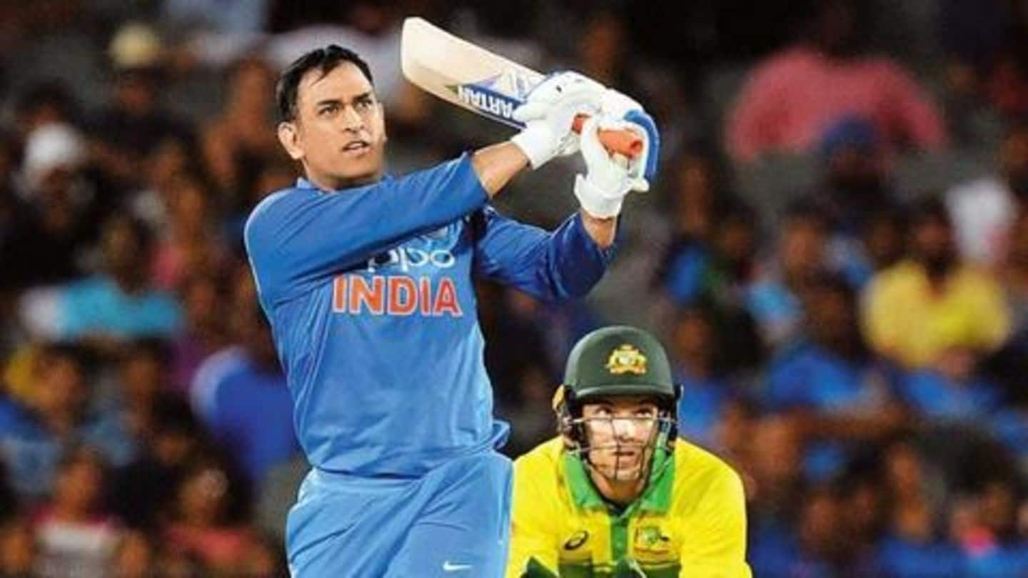 I feel the pressure during first few deliveries: MS Dhoni