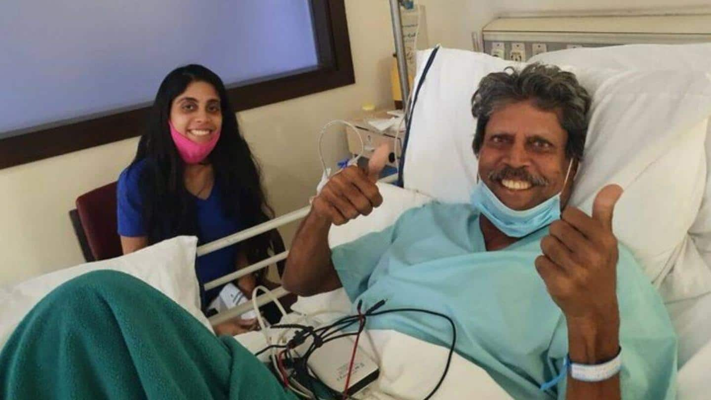 Kapil Dev discharged from hospital after undergoing emergency angioplasty