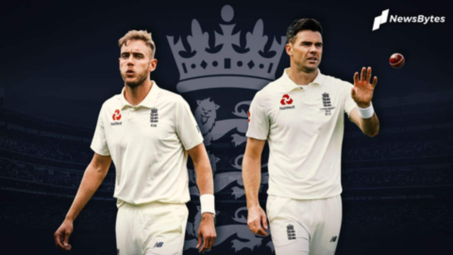 #NewsBytesExplainer: Has Stuart Broad emerged out of Anderson's shadow?