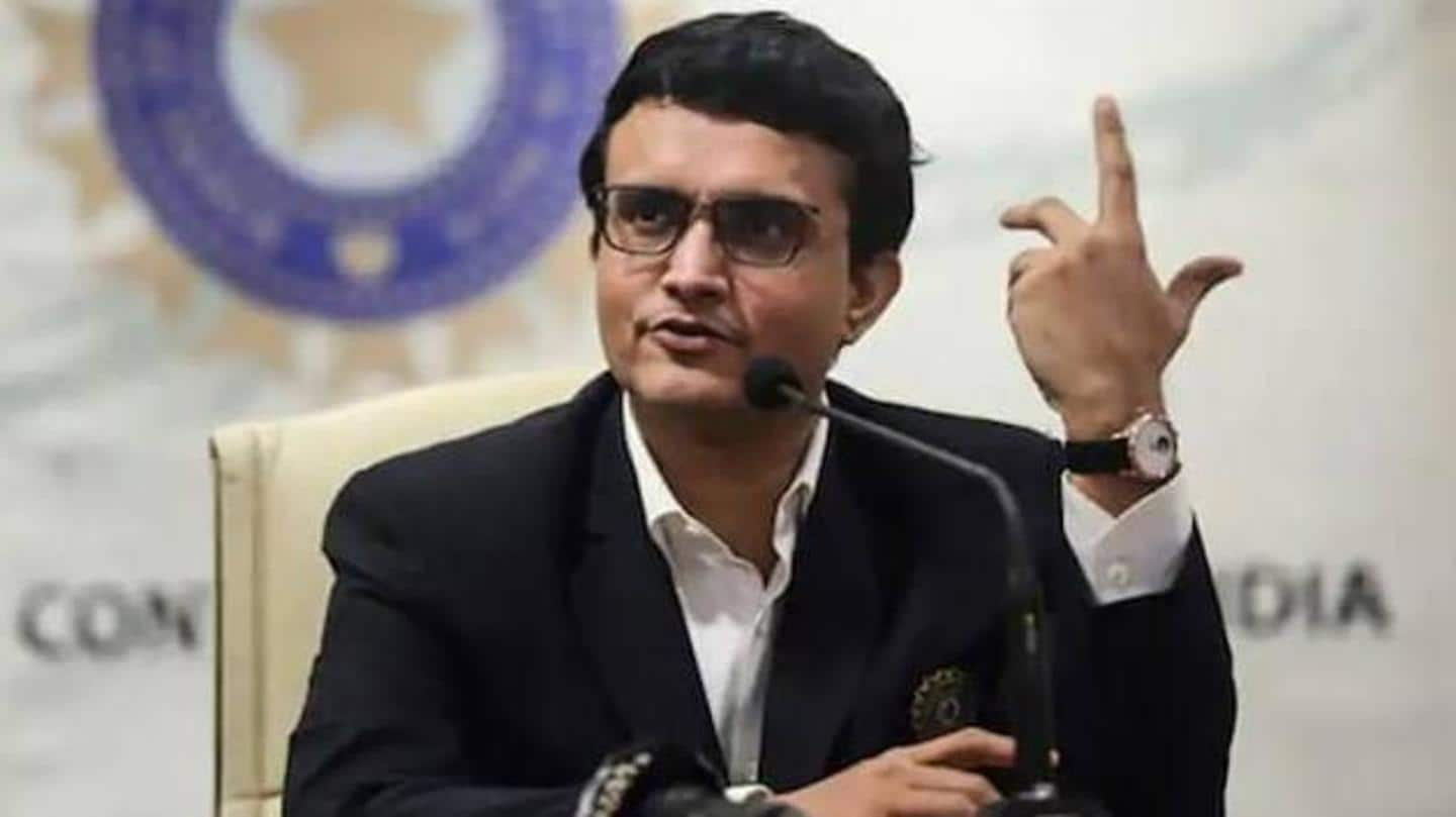 Sourav Ganguly vouches for one Day-Night Test per series