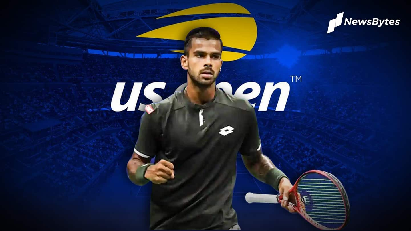 Sumit Nagal scripts history at US Open, wins first round