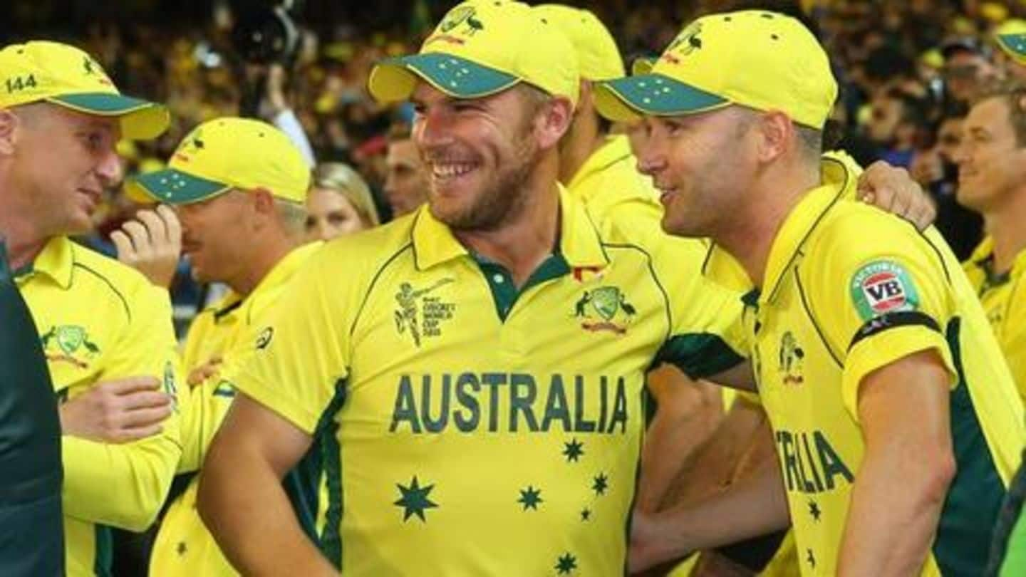 Aaron Finch responds to Michael Clarke's 'sucking up' comment