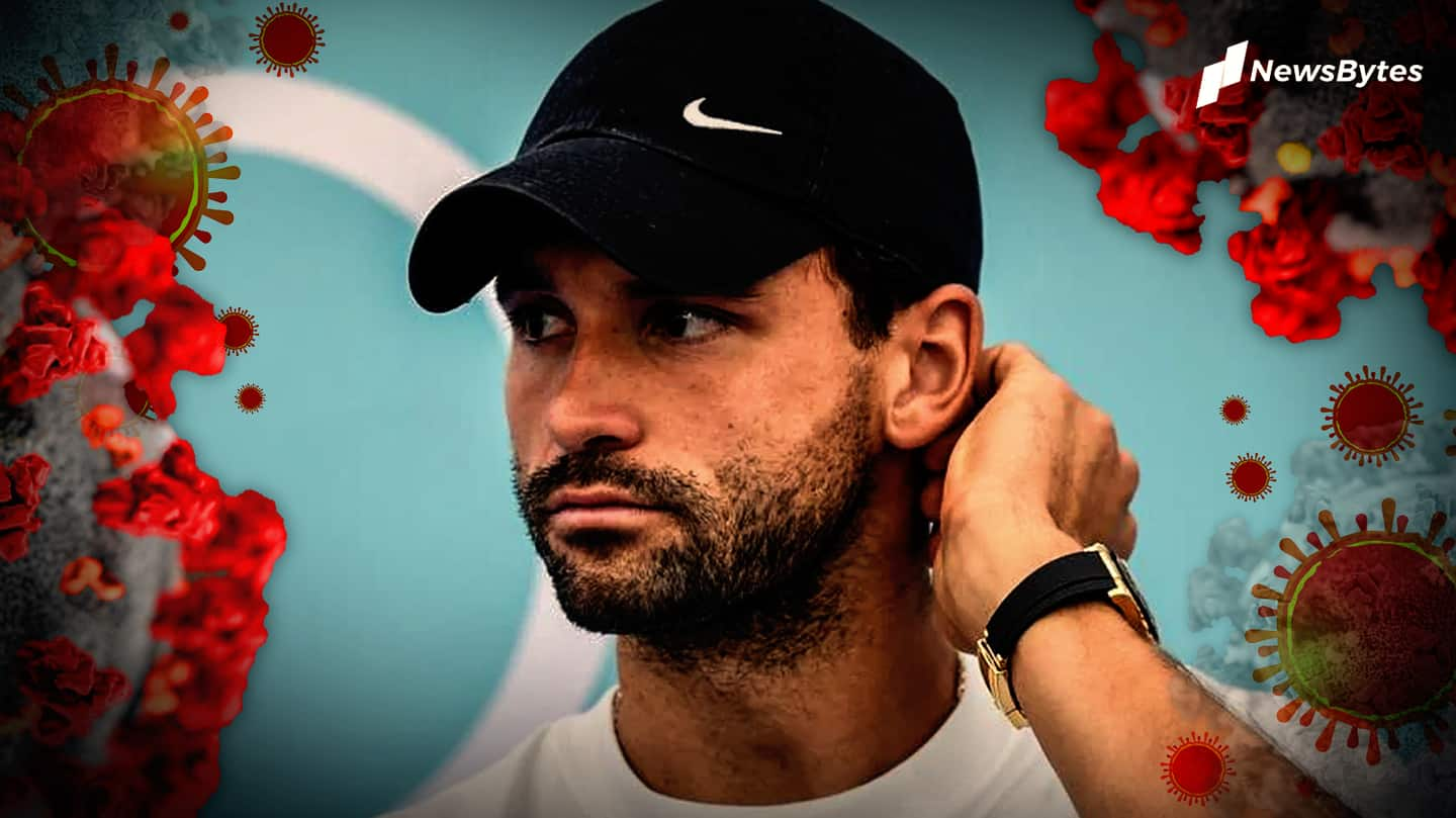 Tennis star Dimitrov tests positive for COVID-19, Adria Tour canceled