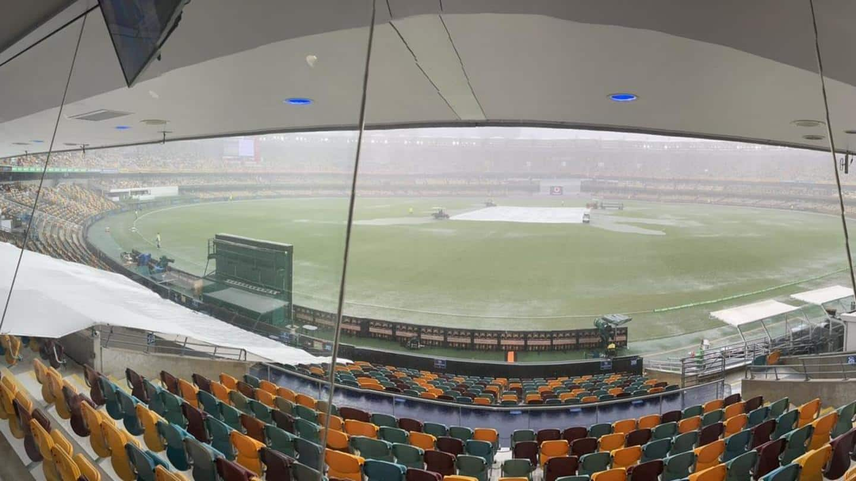 Brisbane Test, Day 2: Rain delays the final session