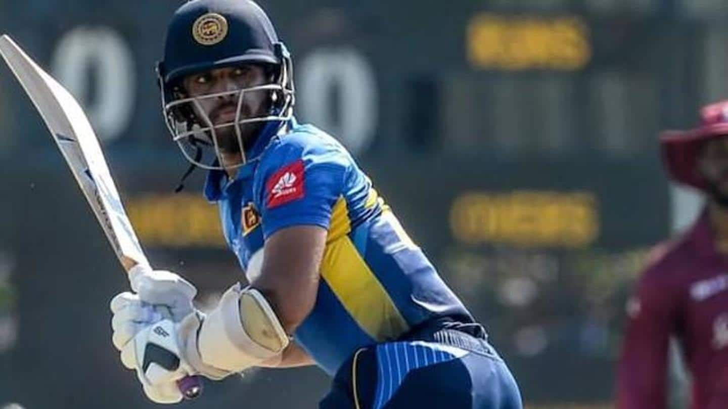 Kusal Mendis arrested after being involved in road accident