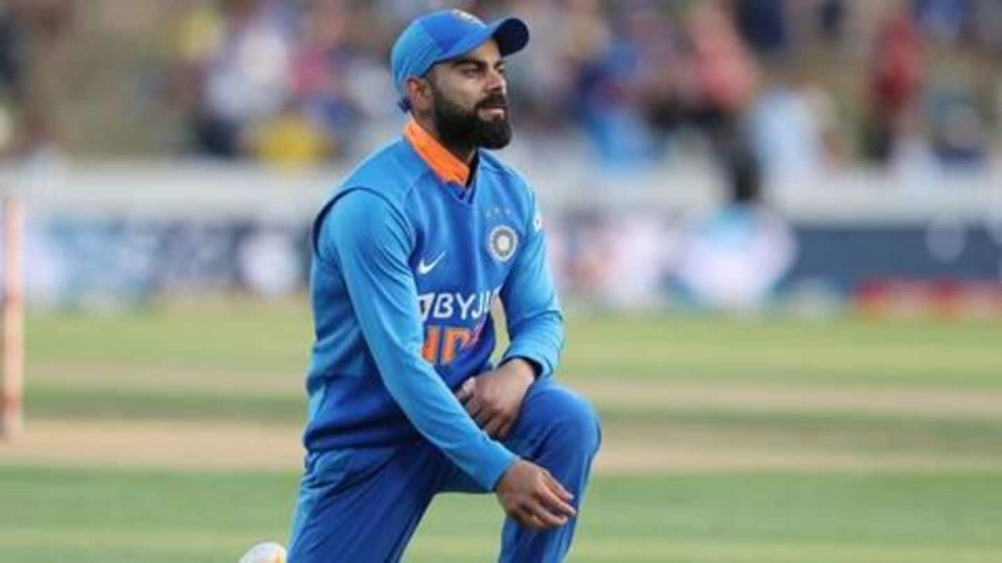Four bowlers with most wickets against Virat Kohli in ODIs