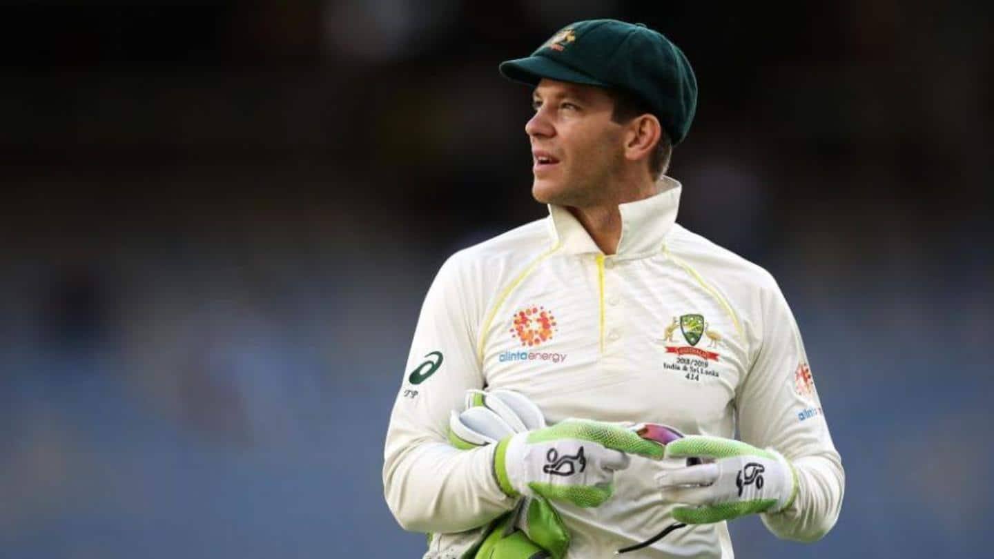 Australia vs India: Tim Paine named in 'A' squad