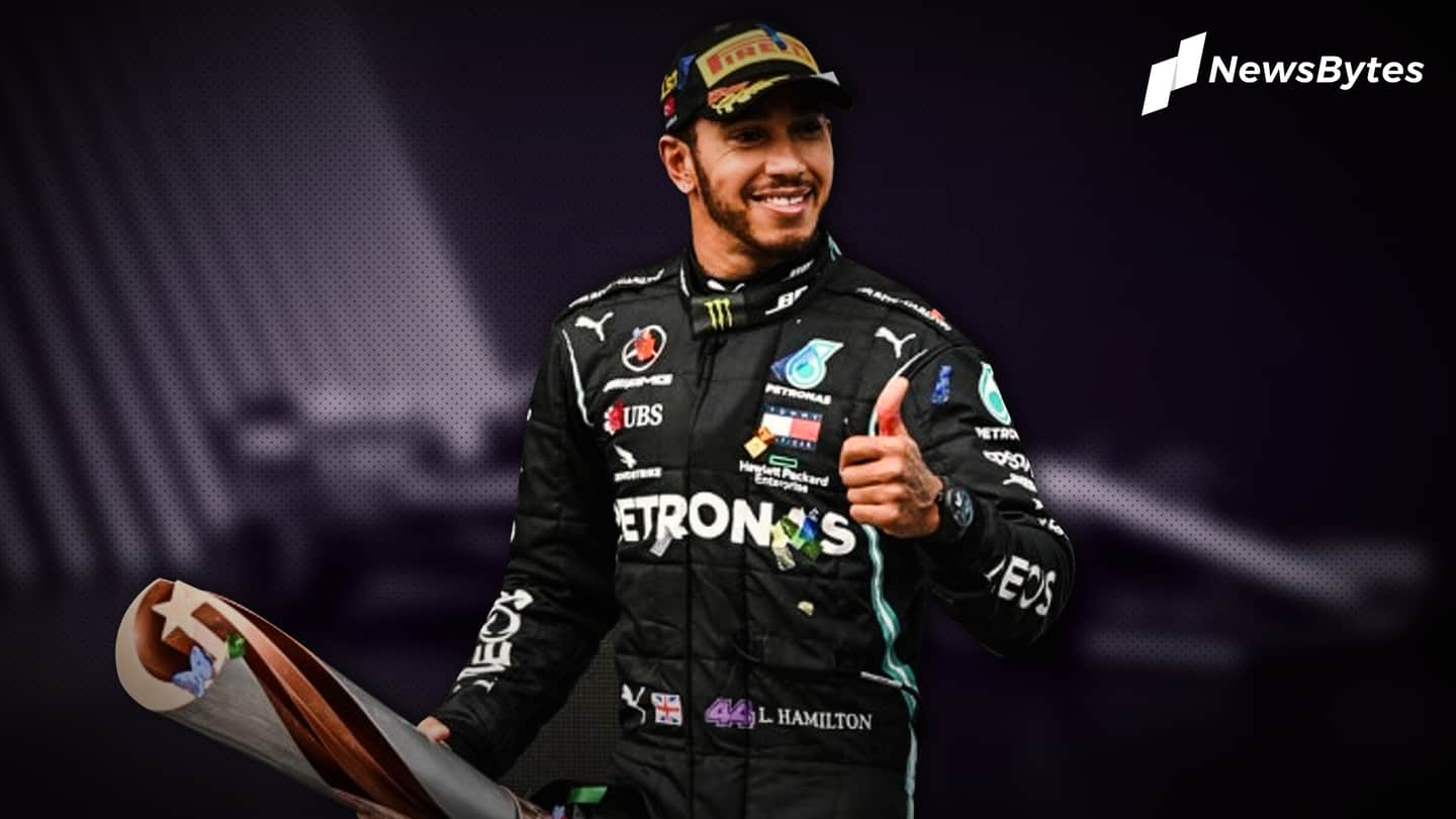 Lewis Hamilton voted BBC Sports Personality of the Year 2020