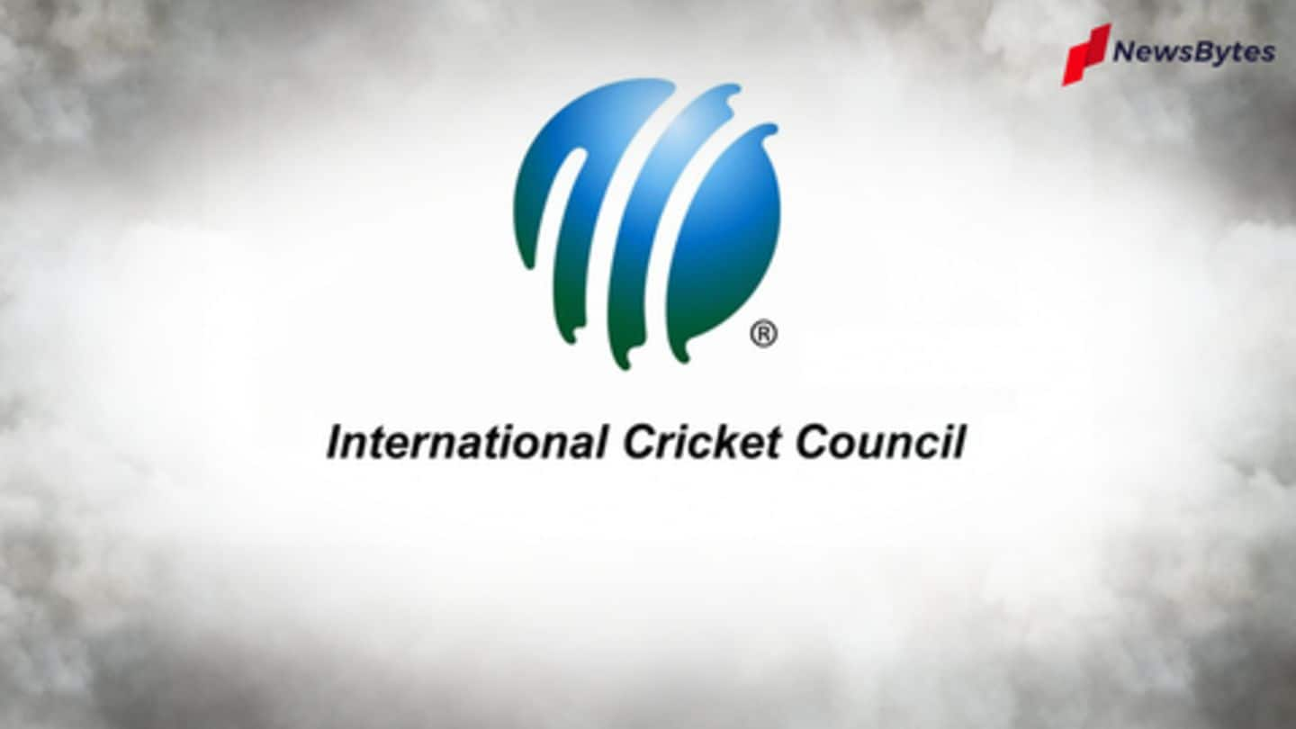 ICC confirms interim changes to playing regulations