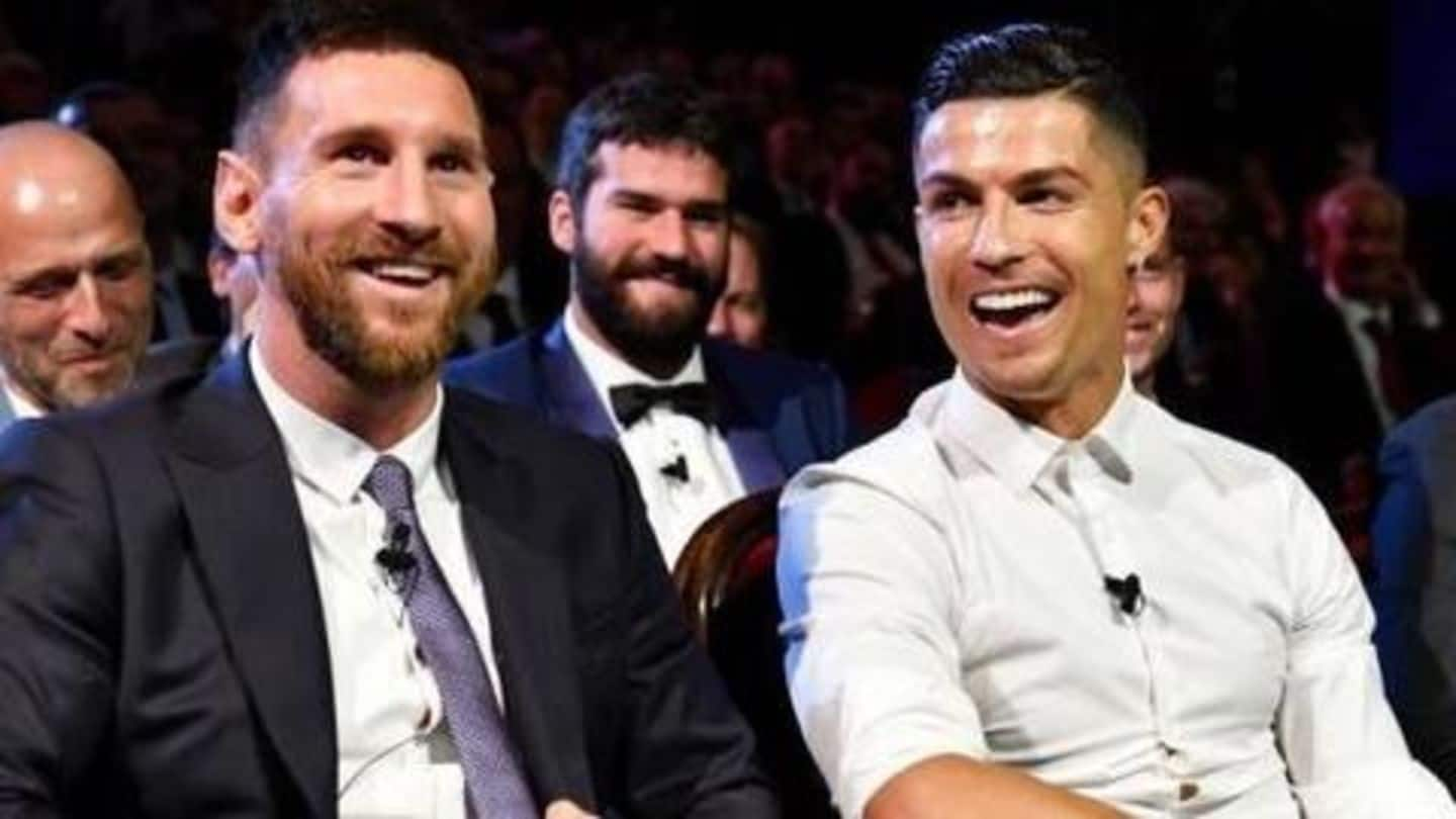 'Ronaldo is not at Messi's level', says David Beckham