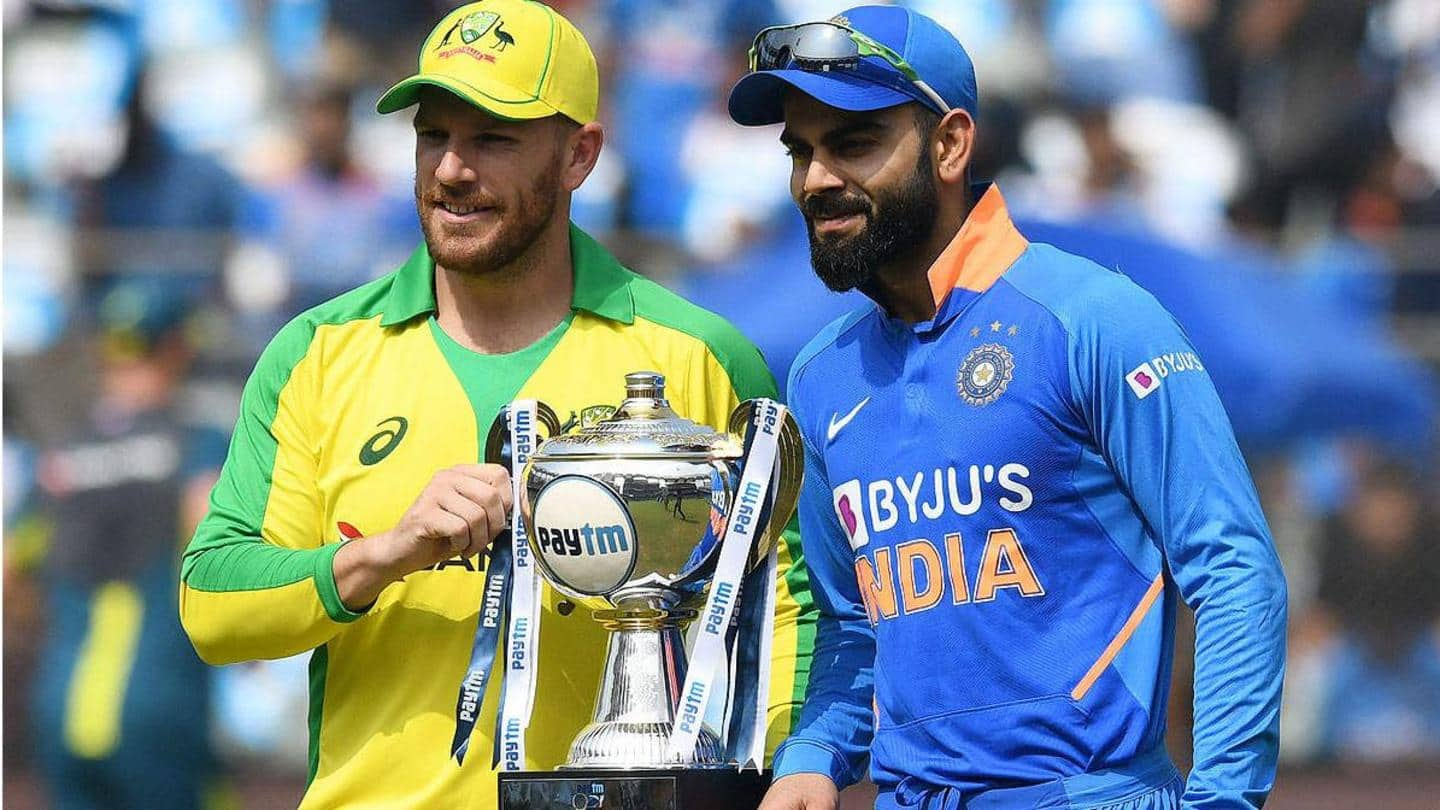 Australia vs India: Statistical preview of ODI series