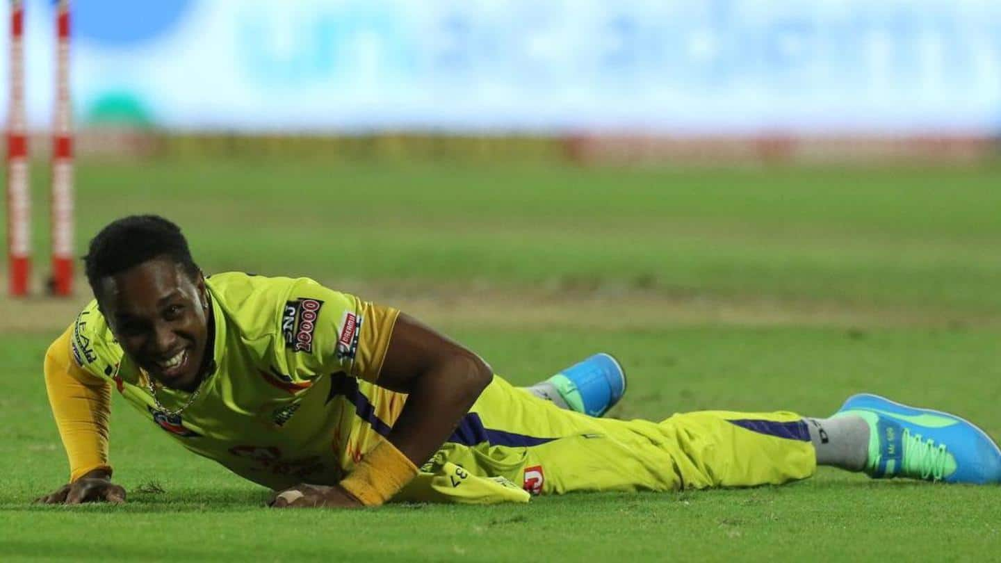 Bravo ruled out of IPL 2020 due to groin injury