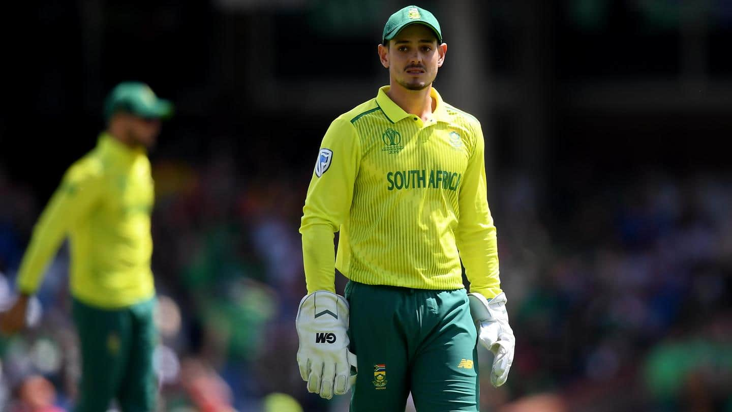 CSA awards: Quinton de Kock, Laura Wolvaardt bag top honors
