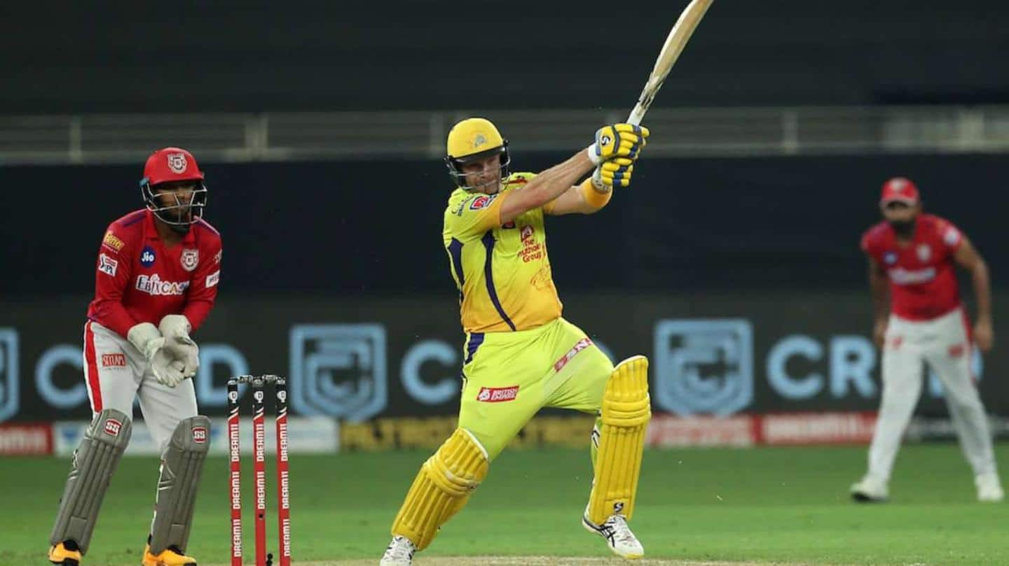 IPL: Performance of Shane Watson against off-spinners