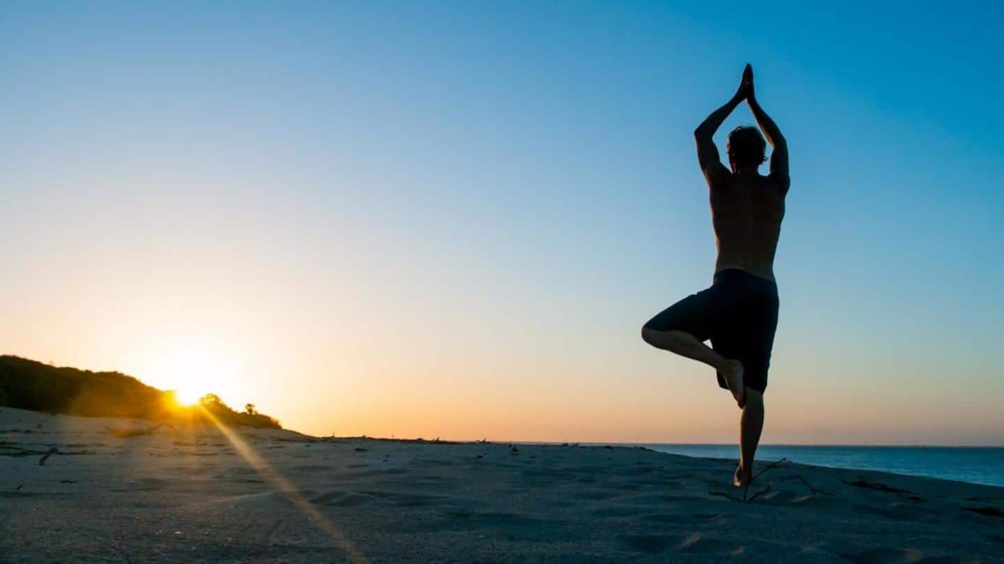 Five best yoga poses to relieve stress