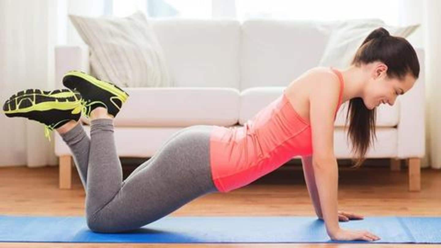 Stay fit without going to the gym: Try these exercises