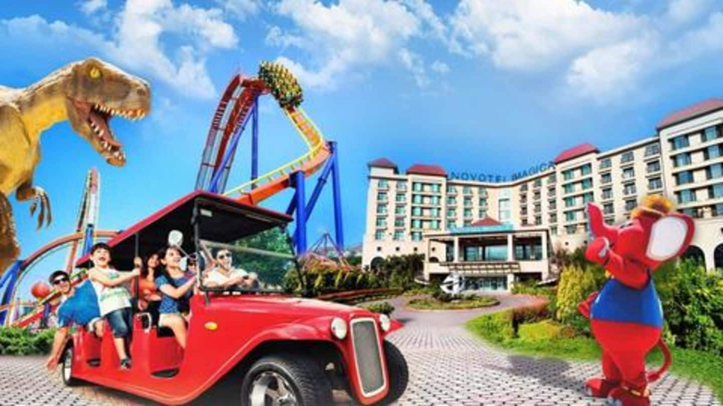 Top five amusement parks in India