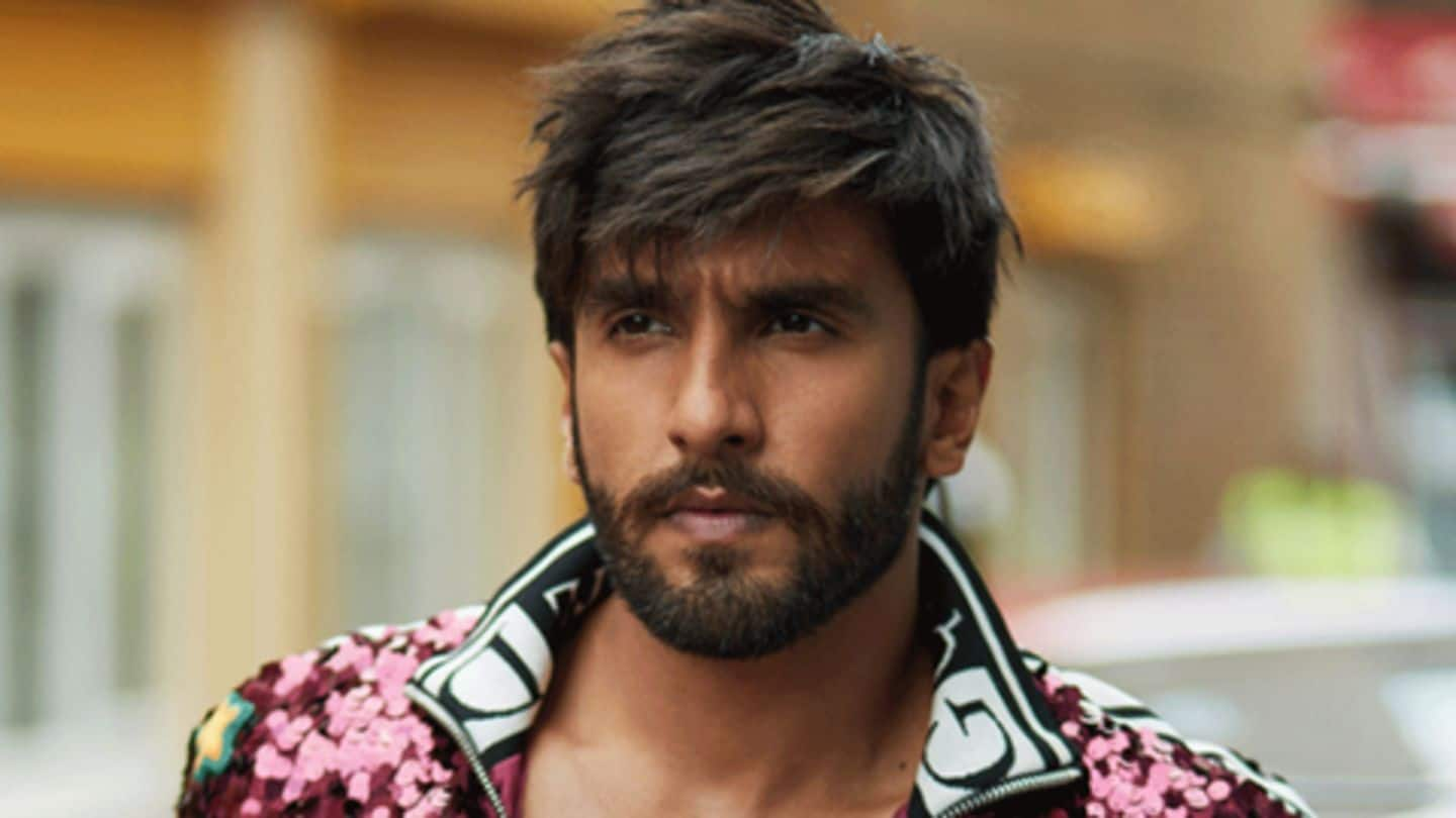 Ranveer Singh's top five most happening outfits