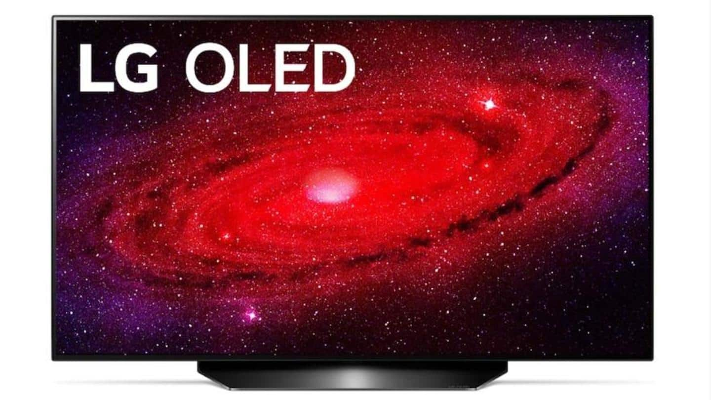 LG launches OLED 48CX TV at Rs. 2 lakh