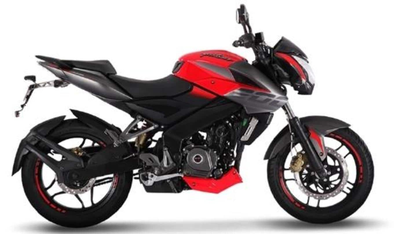 Prices of Bajaj Pulsar NS160 and NS200 motorbikes marginally hiked