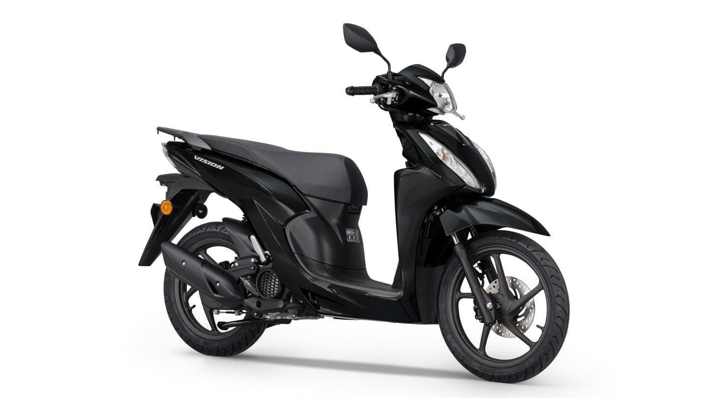 2021 Honda Vision 110, with updated design and features, unveiled