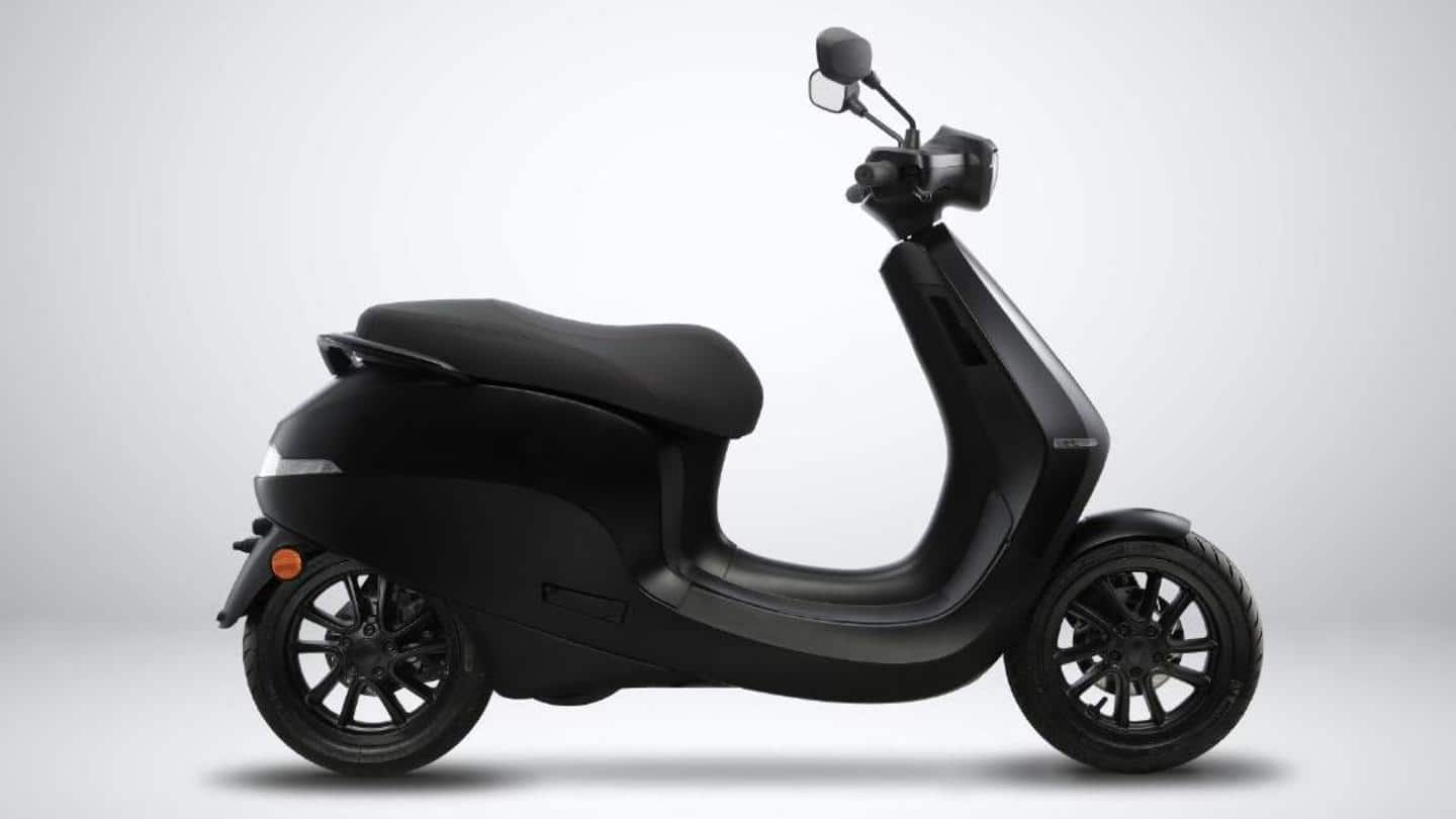 This is how Ola's electric scooter will look like