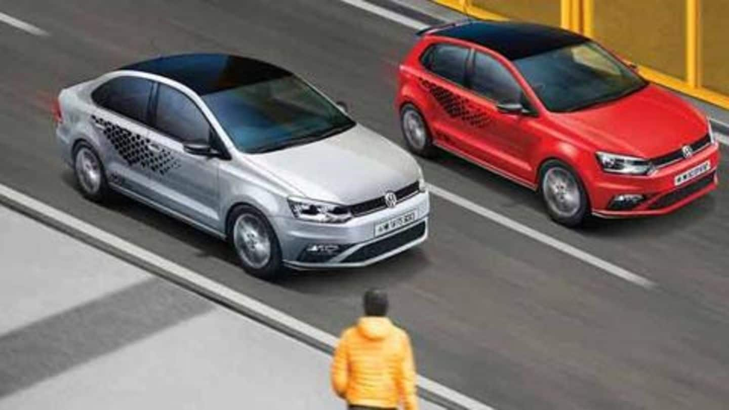 Limited Edition Volkswagen Polo Tsi Vento Tsi Launched In India Newsbytes