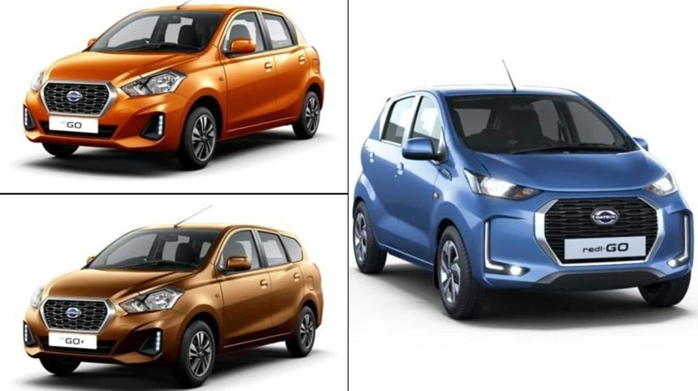 Datsun is offering big discounts on these cars in October