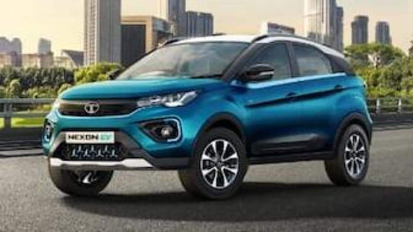 Tata's Nexon EV now available at Rs. 42,000 per month