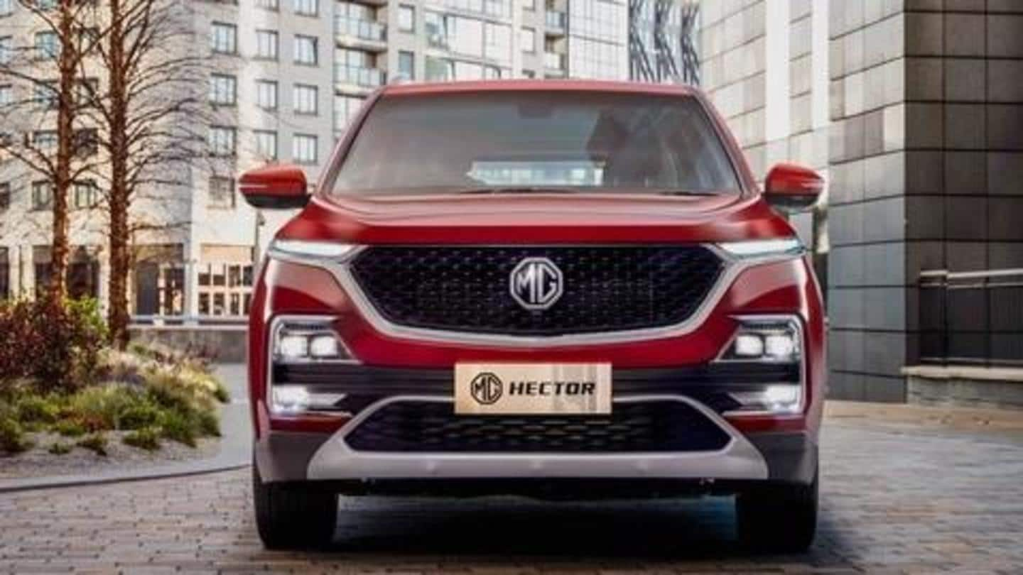 MG Hector (facelift) will support 'Hinglish' voice commands in India