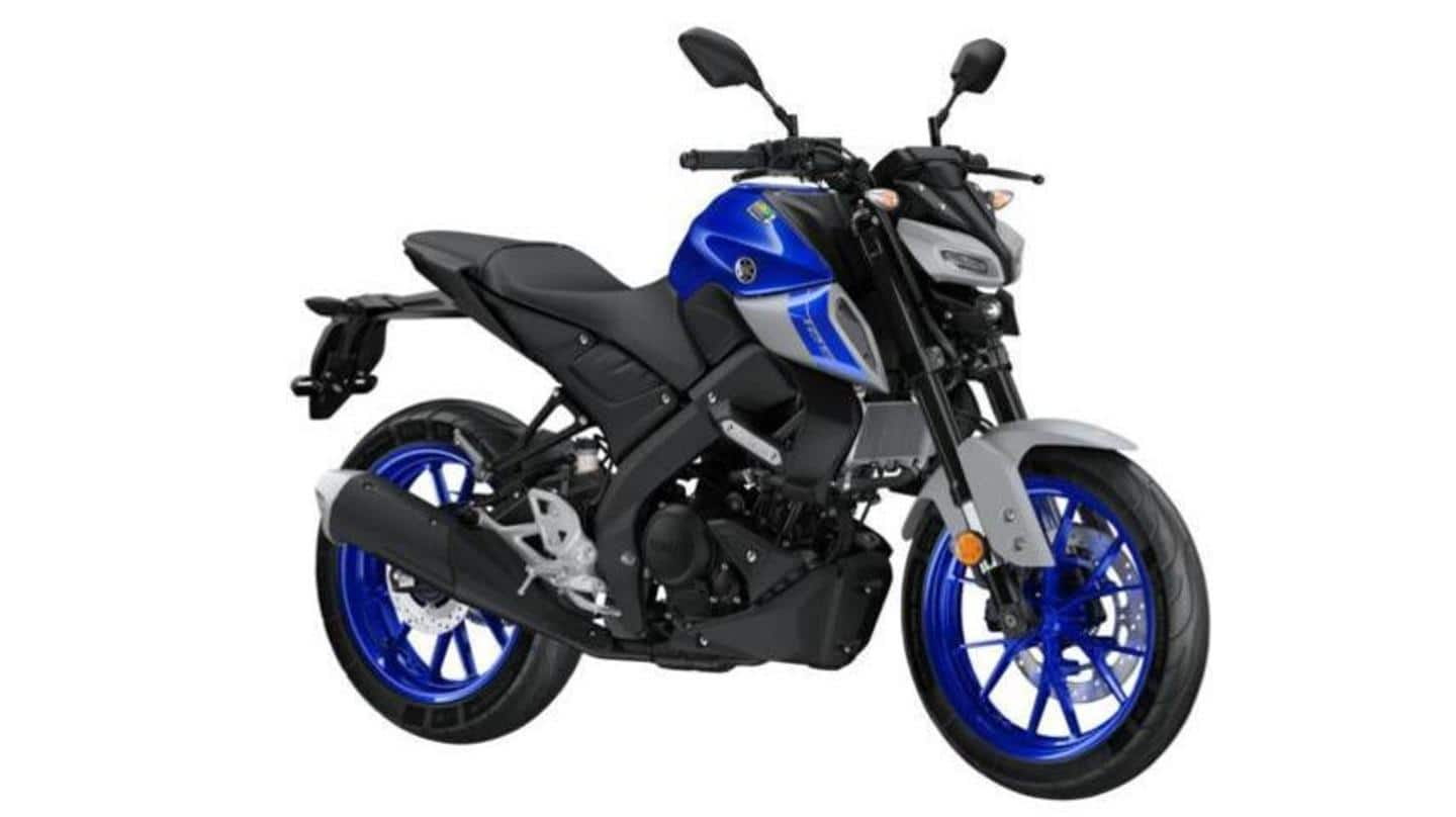 2021 Yamaha MT-125 with new colors, Euro 5-compliant engine launched