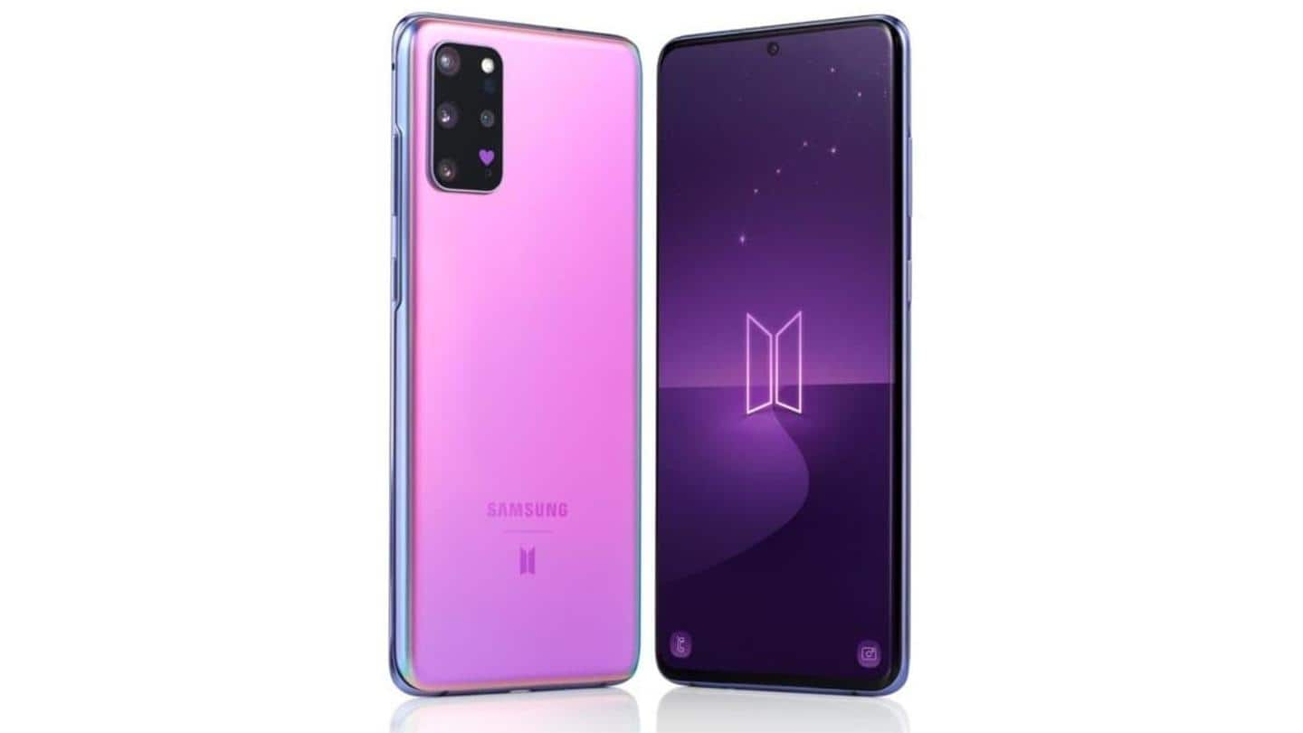 Samsung's S20+ BTS Edition to be launched on July 2