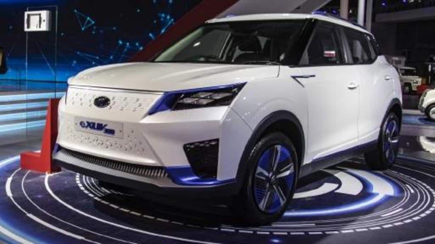 Mahindra to launch eKUV100 and eXUV300 in India by 2022