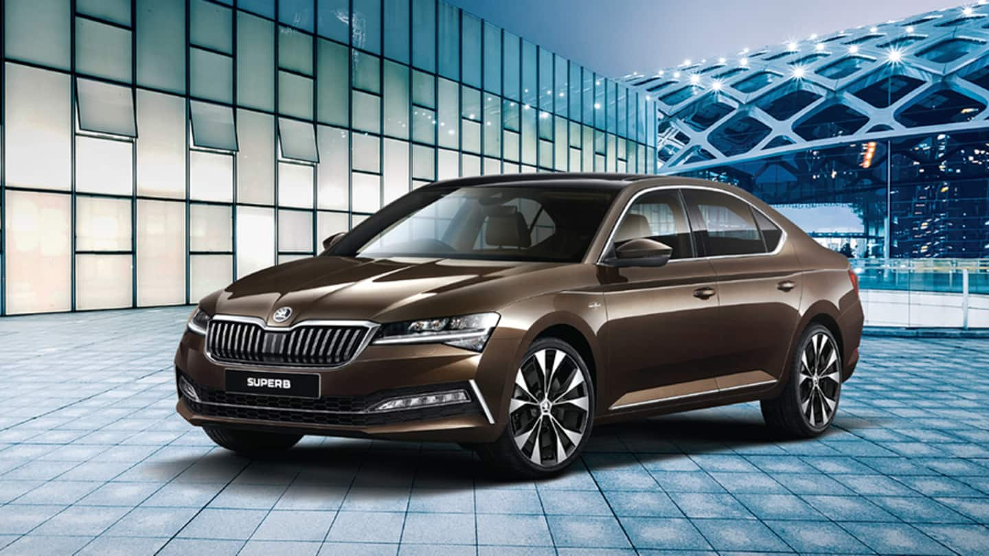 Ahead of launch in India, features of Skoda Superb leaked
