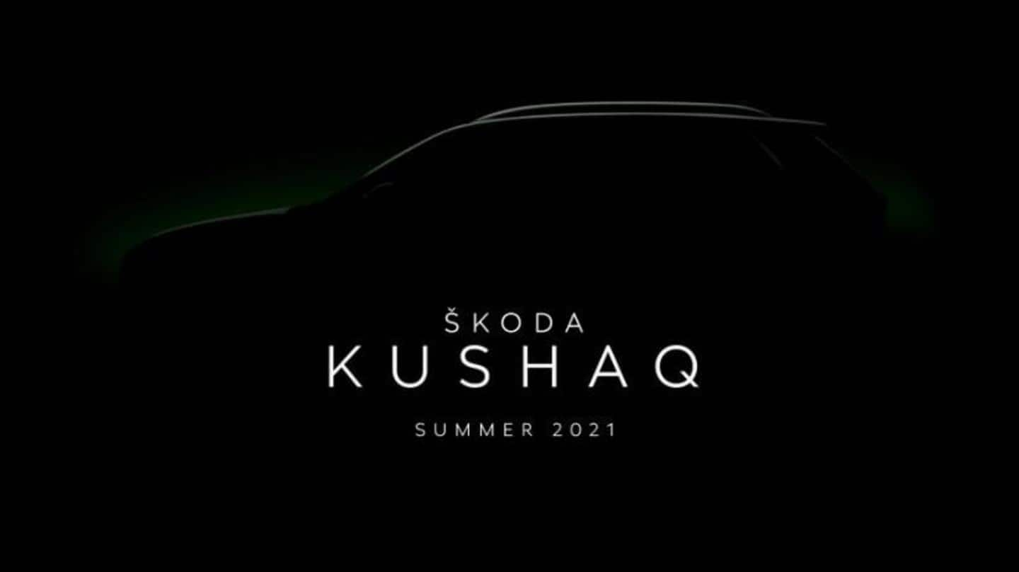 Skoda's Vision IN-based SUV in India to be called Kushaq
