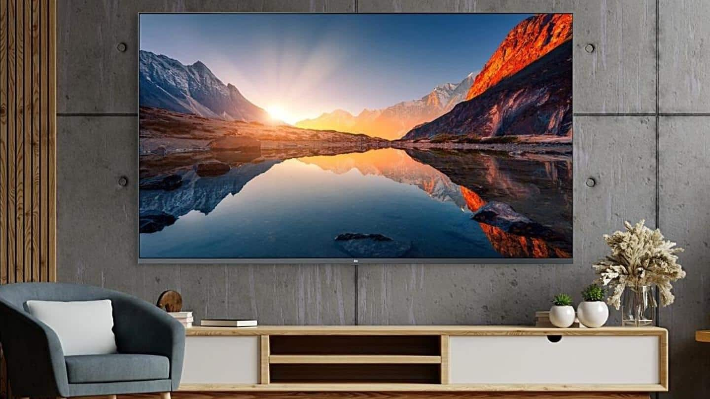 Mi QLED TV 4K launched in India at Rs. 55,000