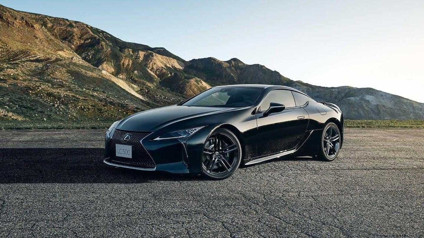 2021 Lexus LC 500 Inspiration Series, with aviation-inspired design, unveiled