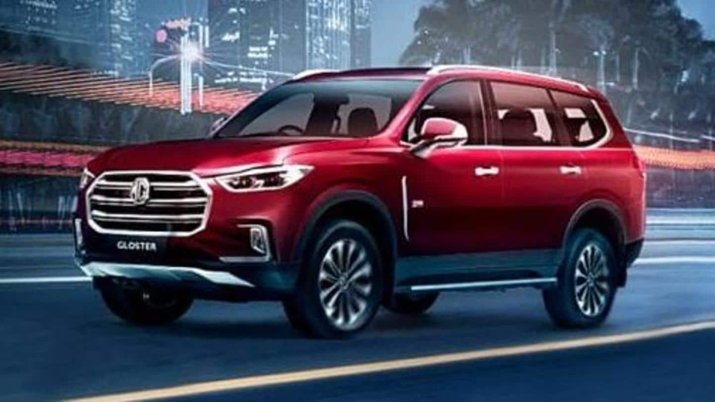 Ahead of launch, MG Gloster SUV makes way to dealerships