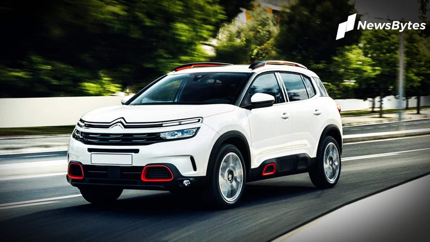 Citroen C5 Aircross SUV to be unveiled on February 1